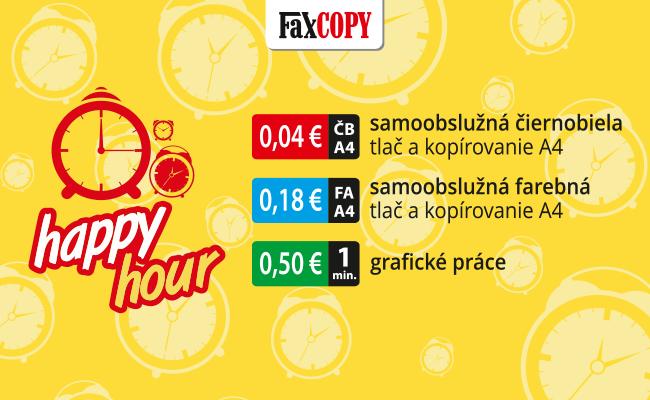 Happy hour vo FaxCOPY