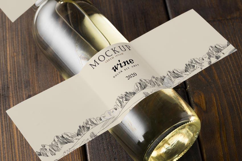 vzor vlastnej etikety na víno