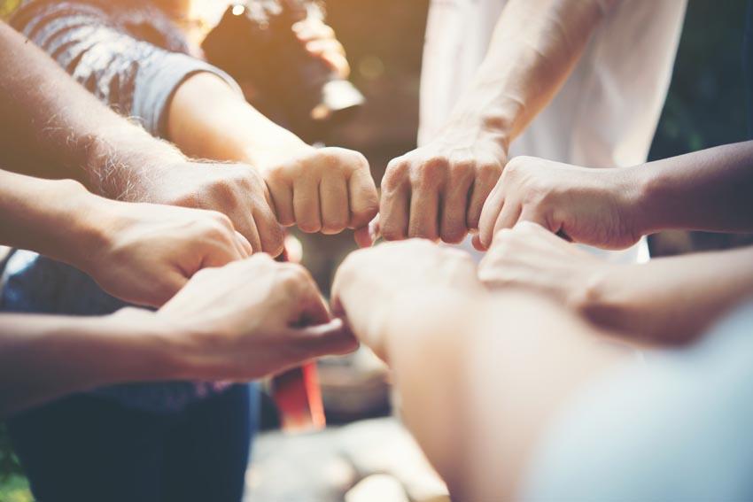ruky tímu