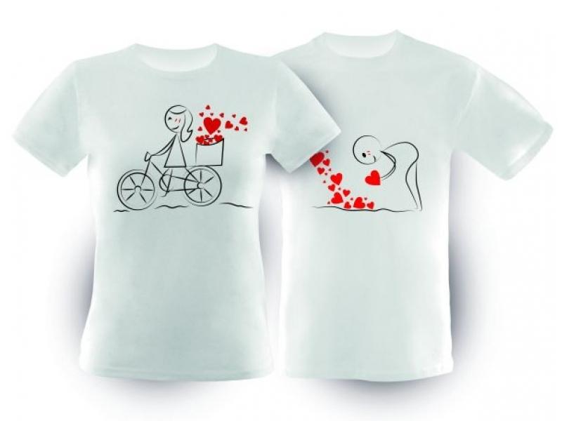Tričko s motívom pre páry