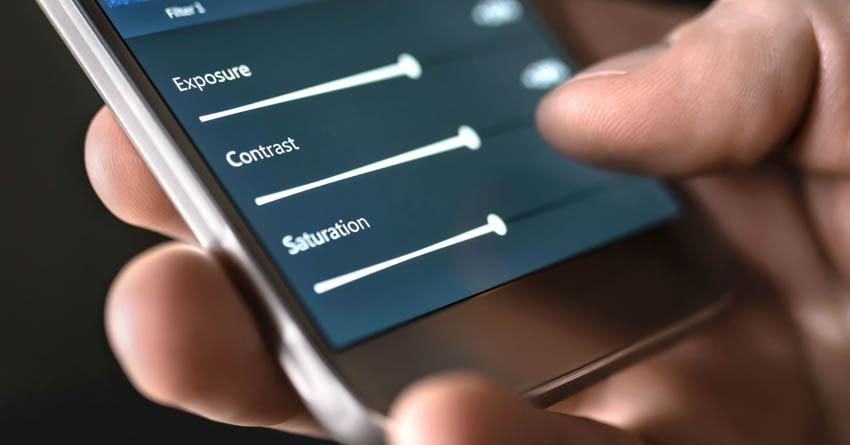 úprava fotky v mobile