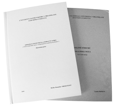 Väzba CPM - termotransférová potlač
