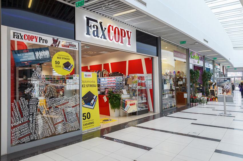 predajňa FaxCOPY