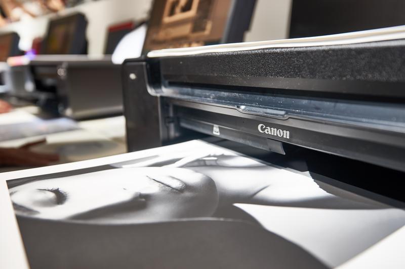Tlač fotografie na tlačiarni Canon