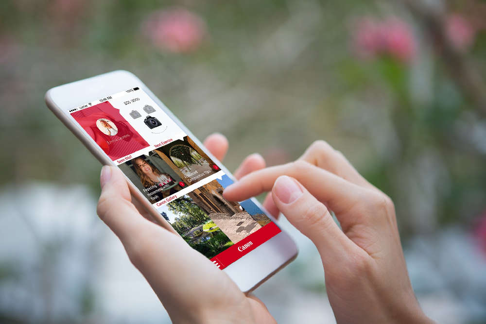 Aplikácia Canon Photo Companion