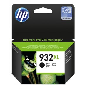 HP atramentová kazeta čierna 932XL