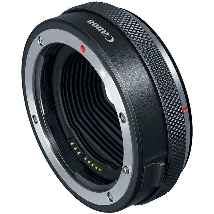Canon adapter EF/EF-S - EOS R s ovládacím prestencom