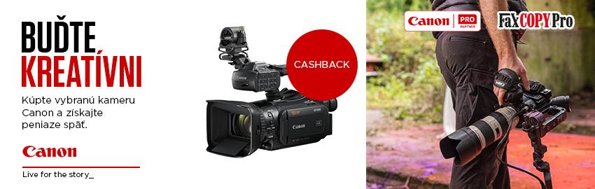 Instatnt Cashback na kamery Canon