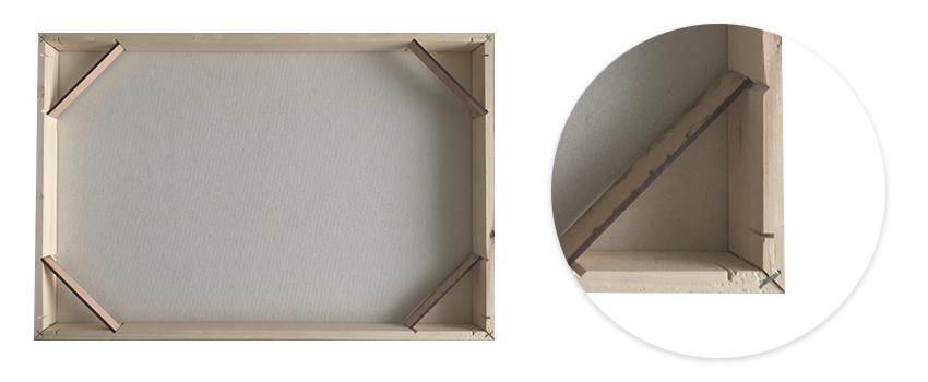 pevný dřevěný rám fotoobrazu Premium od FaxCOPY