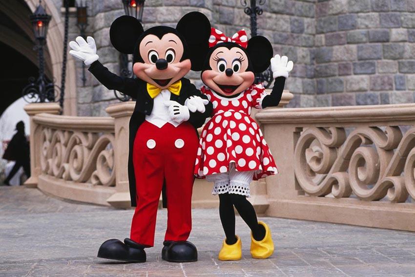 Postavičky Mickey a Minnie