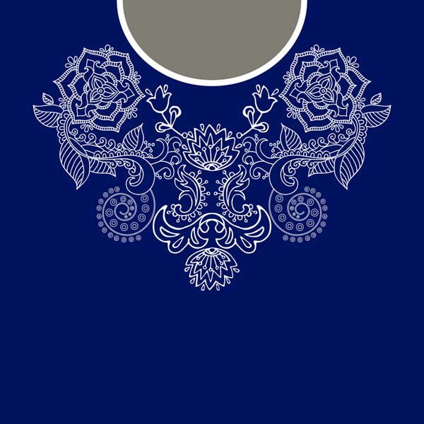 Modrotlač na tričku