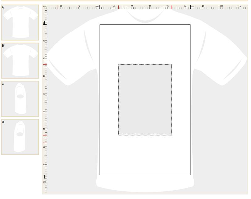 Návrh vlastného trička s potlačou