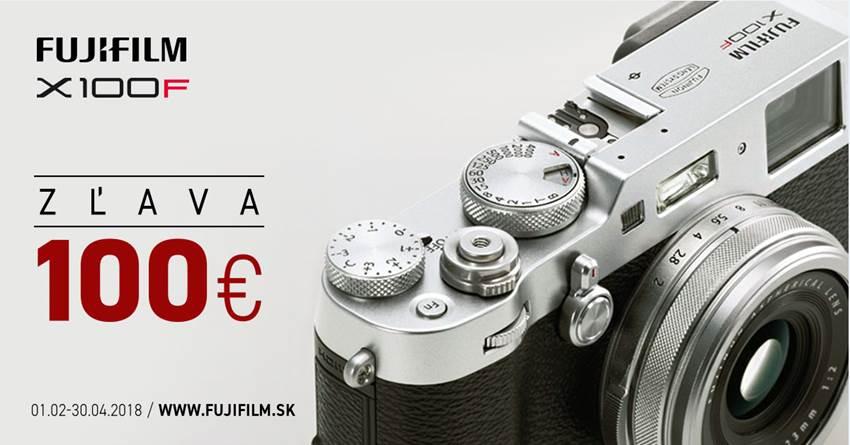 Fujifilm X100F akcia -100€ zľava