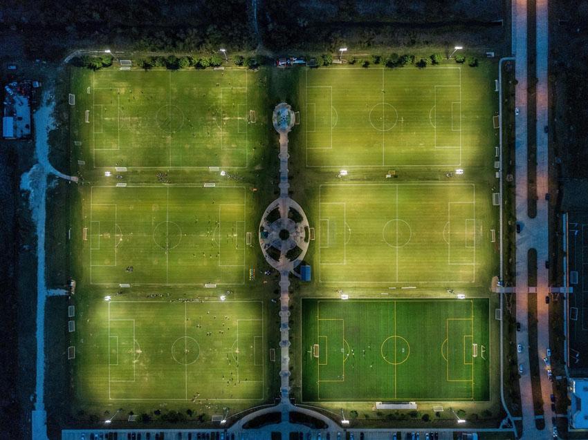 Futbalové ihriská v Houstone