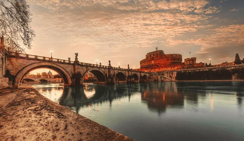 Anjelský most v Ríme