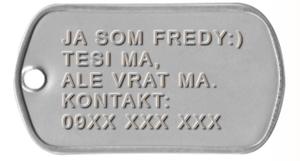 Identifikačný štítok pre psa, Darčekyodsrdca.sk