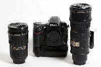 SET Nikon D700 telo + Nikkor 24-70mm + Nikkor 70-200 VR