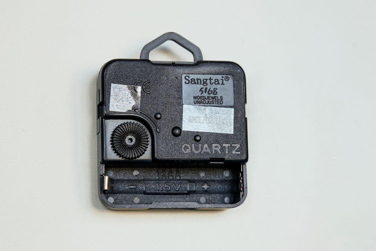 Fotohodiny FaxCOPY, hodinový strojček Quartz