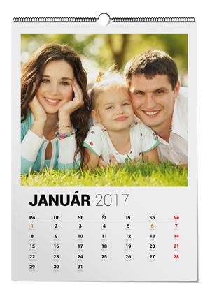 Nástenný kalendár s vlastnými fotkami, Darčekyodsrdca.sk
