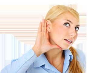 Načúvajúca žena